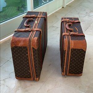 Louis Vitton vintage suitcases